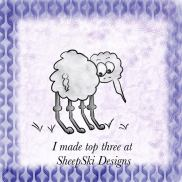 SheepSki Designs Top 3 badge