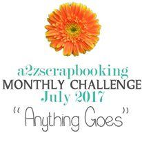 july challenge graphic