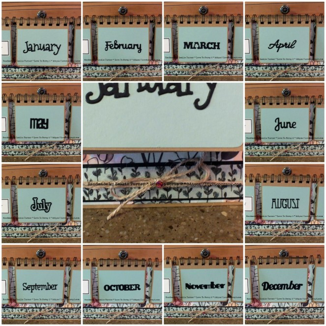 Months Collage