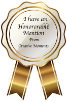 Hon Mention Creative Moments