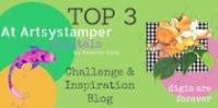 Artsystamper Top 3 badge