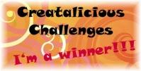 Creatalicious Winner
