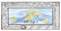 International Art & Soul DT Top 3 Badge (Small)