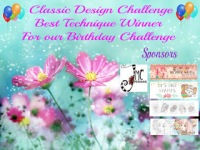 Best Technique winner for our birthday challenge 5-1-20
