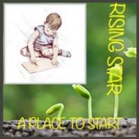 Rising Star Badge Flat