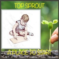 Top Sprout Badge Flat